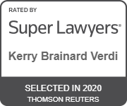 Super Lawyer Badge awarded to Kerry Brainard Verdi of Verdi Ogletree PLLC